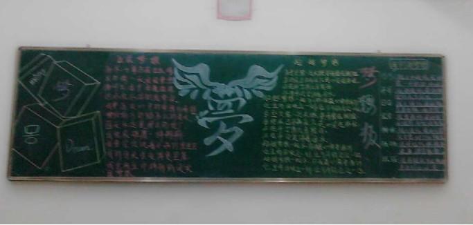 """工艺美院""""我的梦·中国梦""""板报评比"""
